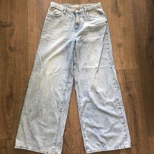 TopShop High Rise Wide Leg Jeans